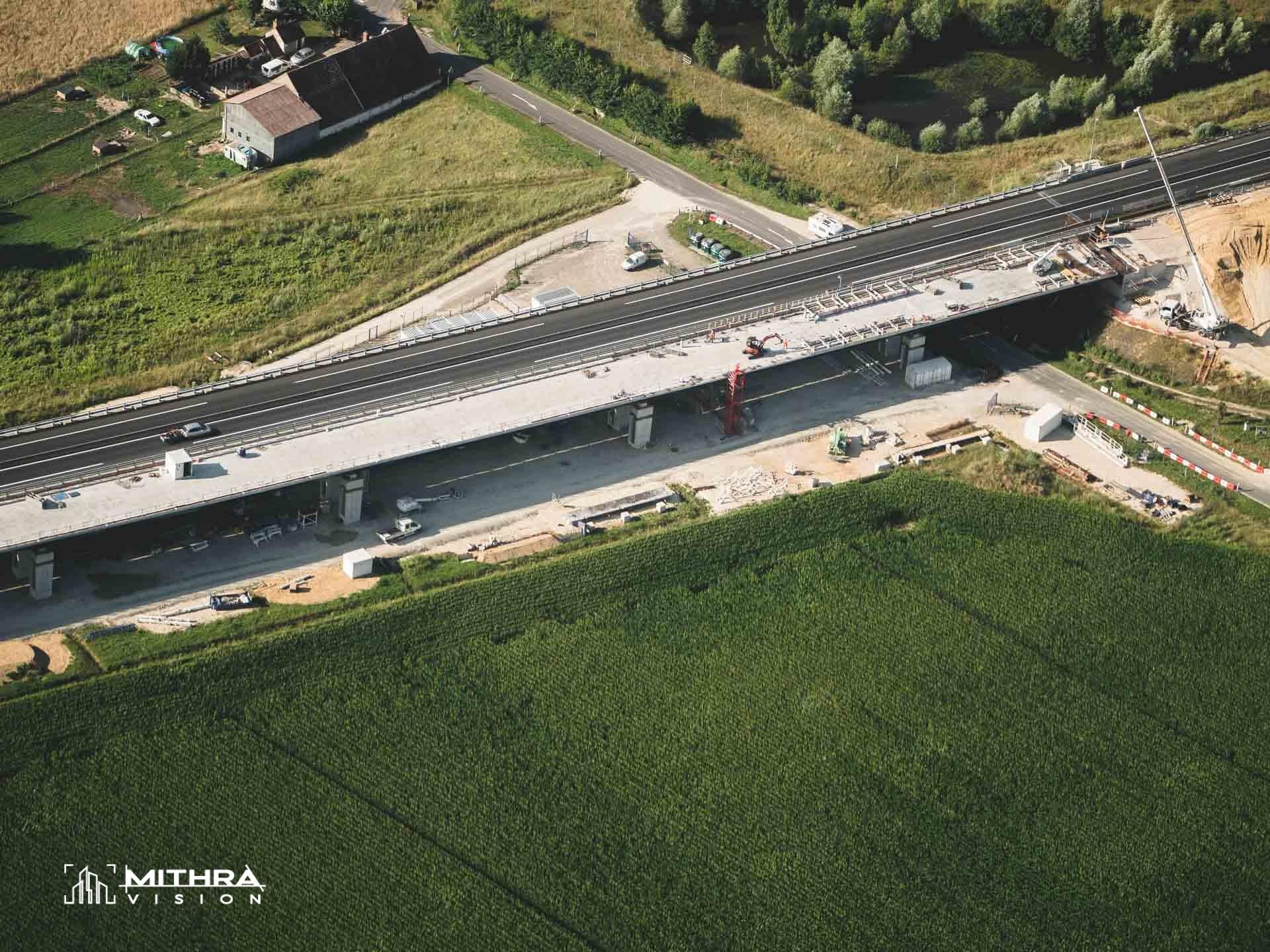 Doublement d'un viaduc sur le réseau VINCI Autoroutes